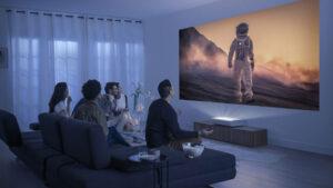 Samsung The Premiere tanıtıldı; kısa mesafeli 4K lazer projektör