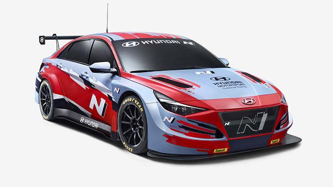 Yarış için hazırlanan Hyundai Elantra N TCR ile tanışın [Video]