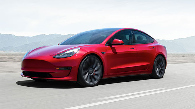 2021 Tesla Model 3 bitcoin