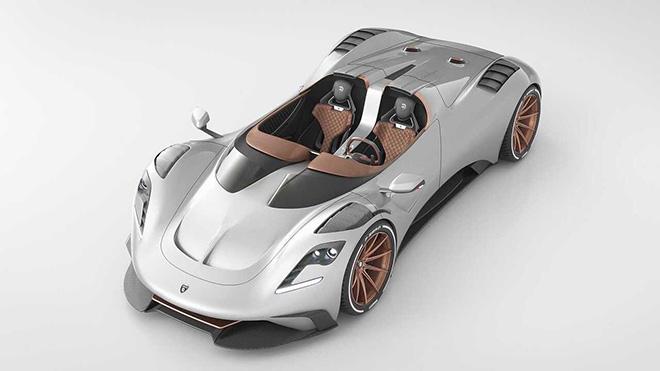 705 beygirlik tavansız otomobil: Ares S1 Project Spyder