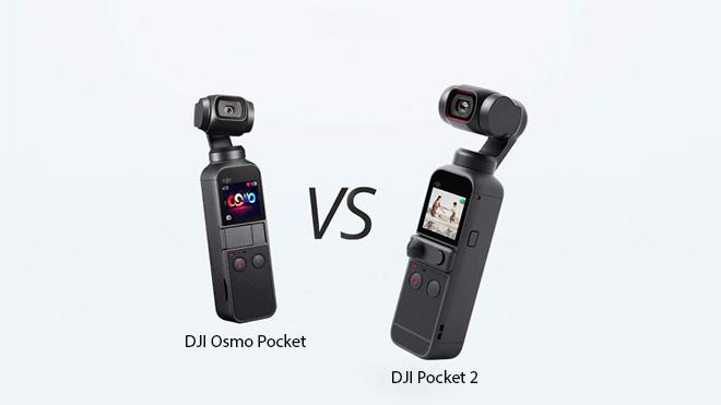 DJI Pocket 2 ve Osmo Pocket karşılaştırması