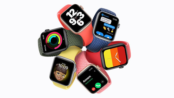 Apple Watch Series 6 ve Apple Watch SE