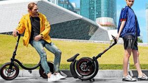Ekooter elektrikli scooter