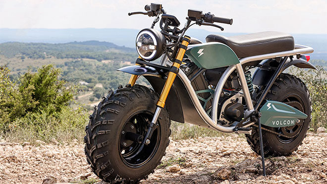 Volcon Grunt elektrikli motosiklet