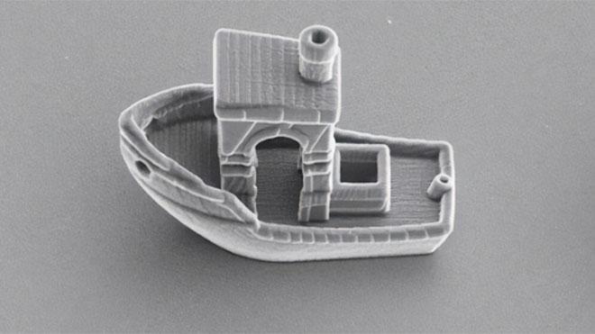 3D yazıcıdan çıkan dünyanın en ufak teknesi
