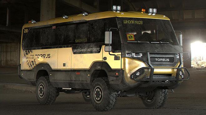Torsus The Praetorian School Bus okul otobüsü