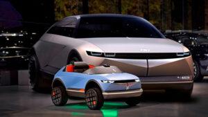 Hyundai imzalı en ufak elektrikli araç