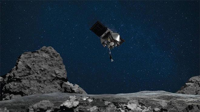 NASA OSIRIS-REx uzay aracından Bennu üzerinde tarihi başarı