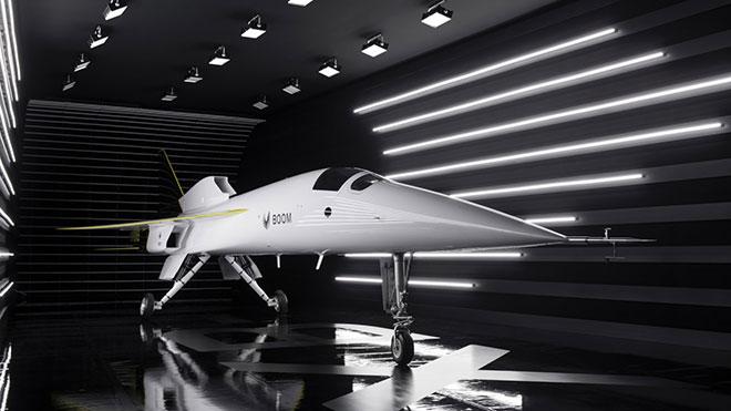 Süpersonik yolcu uçağı Boom XB-1