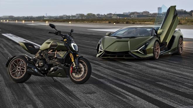 Ducati Diavel 1260 Lamborghini; iki farklı tutkuyu tek noktada toplayan eşsiz proje [Video]