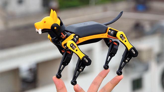 Eğlence ve araştırma için; karşınızda mini robot köpek Bittle [İzle]