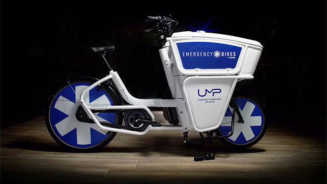 Ambulans elektrikli bisiklet Emergency Bikes