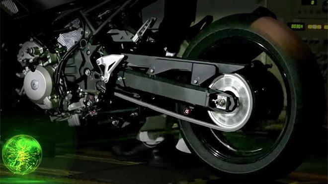Kawasaki, hibrit motosiklet