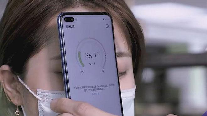 Huawei ateş ölçme