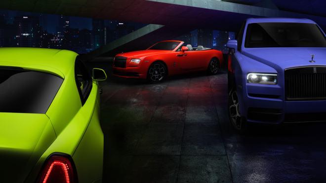 Rolls-Royce Black Badge ailesine doğadan ilham alınan egzotik renkler