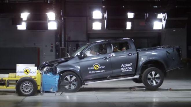 2020 Isuzu D-Max Euro NCAP