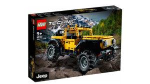 Efsanevi Jeep Wrangler Lego seti için tarih verildi