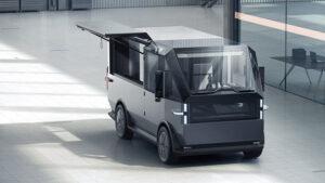 Canoo imzalı ticari elektrikli araç