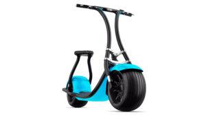 Dev lastikli elektrikli scooter Rolley