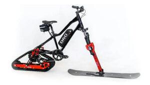 Her bisikleti elektrikli kar bisikleti haline getiren özel kit