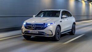 Mercedes elektrikli otomobil