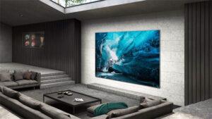 Samsung 110 inç 4K MicroLED TV