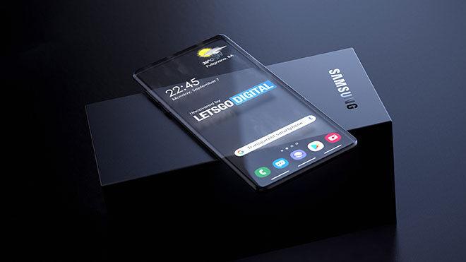 Samsung saydam telefon