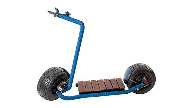 Shaft elektrikli scooter
