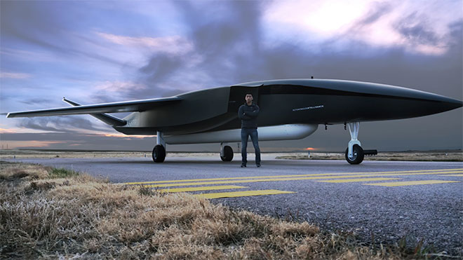 dünyanın en büyük drone'u