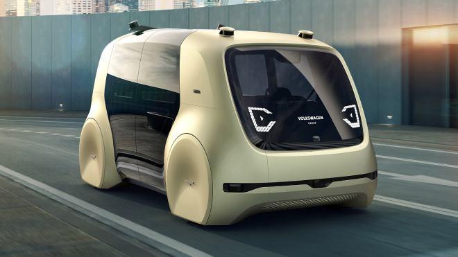 Volkswagen sürücüsüz otomobil
