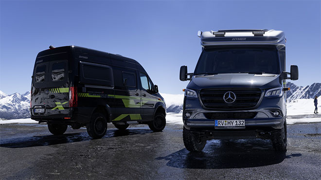 Mercedes-Benz kamp aracı