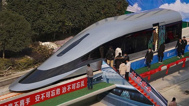 maglev tren