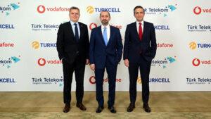 Turkcell, Türk Telekom ve Vodafone