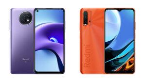 Redmi Note 9T ve Redmi 9T