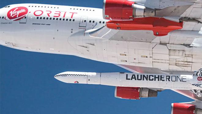 Virgin Orbit roket uzay