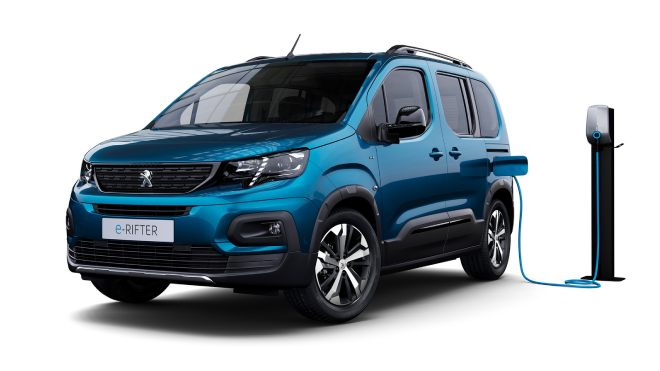 2021 Peugeot e-Rifter
