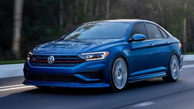 2021 Volkswagen Blue Lagoon Jetta GLI