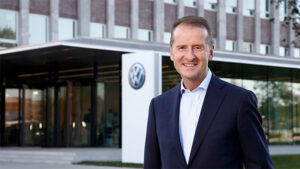 Apple Volkswagen Group CEO Herbert Diess