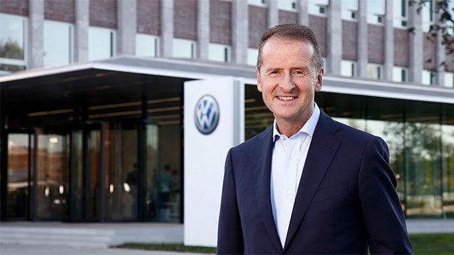 Apple Volkswagen Group CEO Herbert Diess