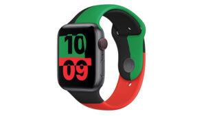 Apple Watch Black Unity spor kordon