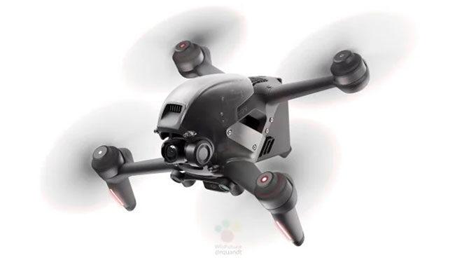 DJI yarış drone