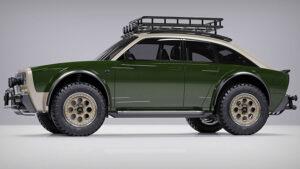 elektrikli otomobil: Alpha JAX CUV