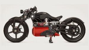 Curtiss Hades elektrikli motosiklet