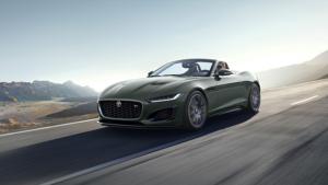60 yıla özel versiyon; Jaguar F-TYPE Heritage 60 Edition