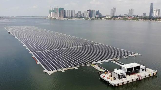 deniz üstü güneş enerjisi çiftliği