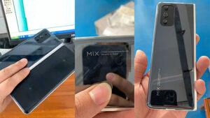 Katlanabilir Xiaomi Mi Mix
