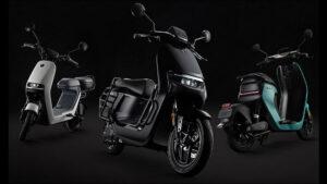 Ninebot elektrikli motosiklet