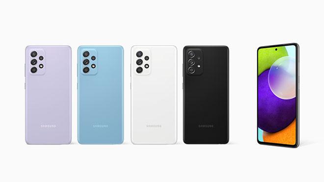 Samsung Galaxy A72 ve Samsung Galaxy A52