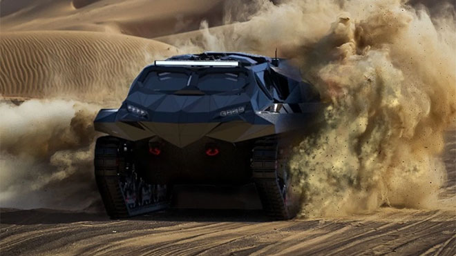 askeri araç storm
