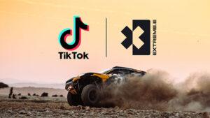 Extreme E serisi için TikTok ortaklığı
